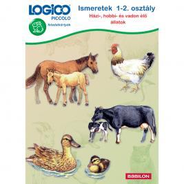 LOGICO Piccolo 3461 - Ismeretek 1-2. osztály: Házi-, hobbi- és vadon élő állatok