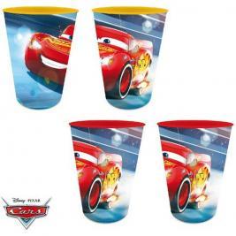 Verdák - Cars pohár 4 db