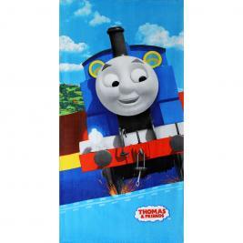 Thomas a gőzmozdony pamut strand törölköző 70*140 cm