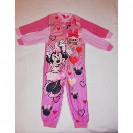 Minnie Mouse - Minnie egér egyrészes polár pizsama