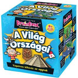 Brainbox A világ országai - memória és kvíz kérdések játék
