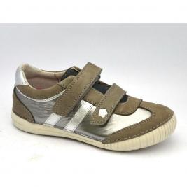 D.D.Step átmeneti zárt lány cipő ezüst diszitéssel