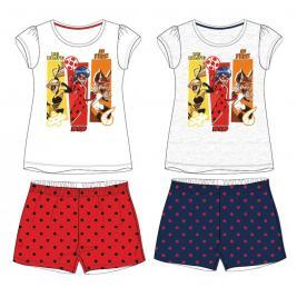 Csodálatos Katicabogár - Miraculous Ladybug - rövid pizsama szett
