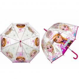 Jégvarázs - Frozen átlátszó esernyő
