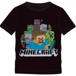 Minecraft rövid ujjú fiú póló 116-152 cm