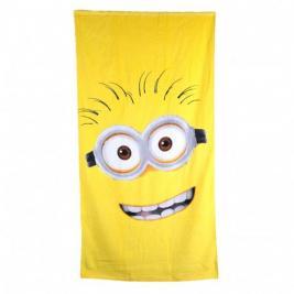 Minion pamut strand törölköző Sárga fejű 70*140 cm