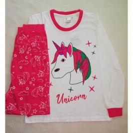 Unikornis - Egyszarvű hosszú pizsama