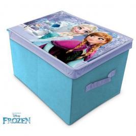 Frozen Jégvarázs játéktároló fedeles 40x30x25