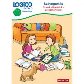 LOGICO Piccolo 5405 - Szövegértés: Mondatok, szavak, beszédhelyzetek