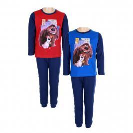 Kis Kedvencek Titkos Élete hosszú pamut pizsama fiúknak