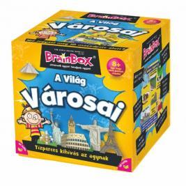 Brainbox A világ városai - memória és kvíz kérdések játék