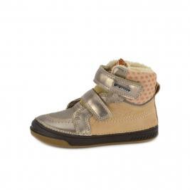 D.D.Step téli bélelt bundás cipő lányoknak