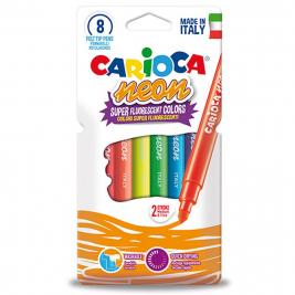 Carioca Neon színű 8 db-os filctoll szett