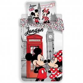 Minnie egér - Minnie Mouse ágyneműhuzat London 140*200 és 70*90
