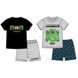 Minecraft fiú rövid pizsama 116-152 cm