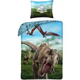 Jurassic World ágyneműhuzat 140*200 és 70*90 cm