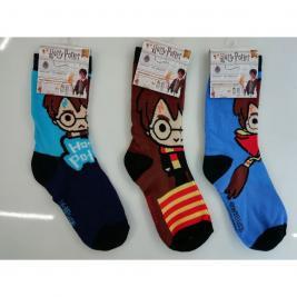 Harry Potter 3 darabos lábszárzokni