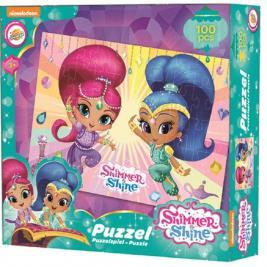 Shimmer és Shine puzzle 100 db