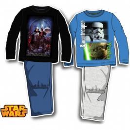 Star Wars hosszú pamut pizsama fiúknak