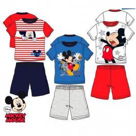 Mickey egér - Mickey Mouse pamut rövid pizsama fiúknak