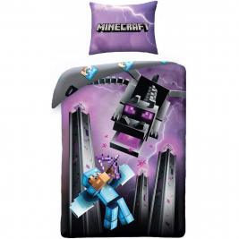 Minecraft ágyneműhuzat 140*200 és 70*90 cm
