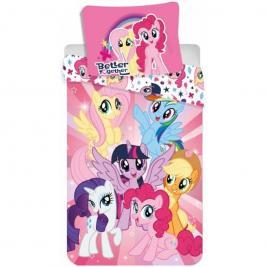 Én Kicsi Pónim - My Little Pony ágyneműhuzat 140*200 és 70*90 cm
