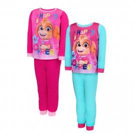 Mancs Őrjárat - Paw Patrol kétrészes hosszú pizsama lányoknak