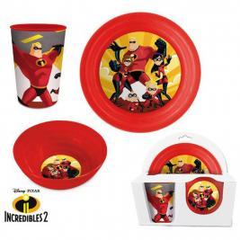 A hihetetlen család - The Incredibles 4 db-os étkészlet