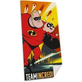 A hihetetlen család - The Incredibles pamut strand törölköző 70*140 cm