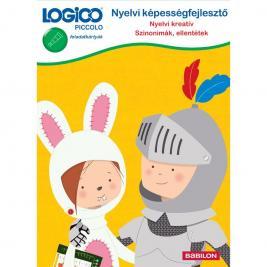 LOGICO Piccolo 5421 Nyelvi képességfejlesztő: Nyelvi kreatív - Szinonimák, ellentétek