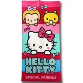 Hello Kitty pamut strand törölköző