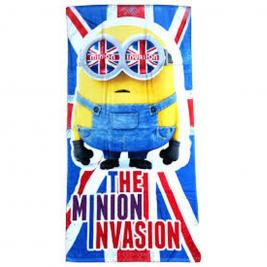 Minion pamut strand törölköző Invasion 70*140 cm