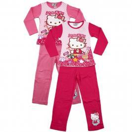 Hello Kitty pamut josszú pizsama lányoknak