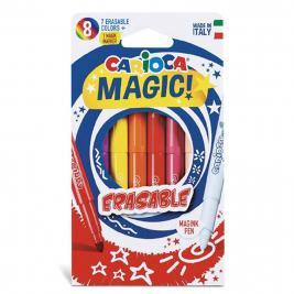 Carioca Mágikus radírozható 8 db-os filctoll szett