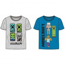 Minecraft fiú póló 116-152