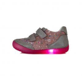 D.D.Step lány ledes világító talpú zárt cipő