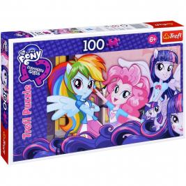 Equestria Girls - My Litte Pony puzzle 100 db