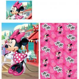 Minnie egér- Minnie Mouse ovis ágyneműhuzat 90*140 és 40*55 cm