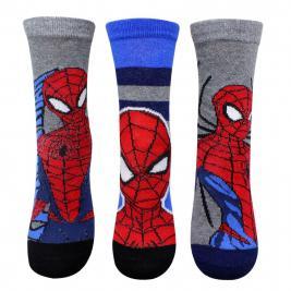Pókember - Spiderman 3 db-os zokni szett fiúknak