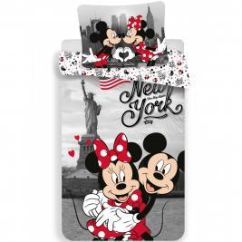 Minnie egér - Minnie Mouse ágyneműhuzat New York 140*200 és 70*90 cm