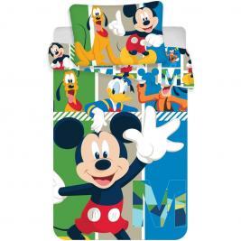 Mickey egér - Mickey Mouse ovis ágyneműhuzat 100*135 és 40*60 cm