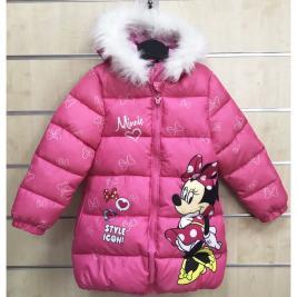 Minnie téli kapucnis kabát lányoknak