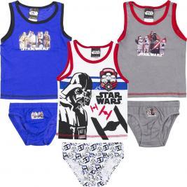 Star Wars fiú trikó + alsónadrág szett