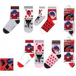 Miraculous 3 db-os zokni szett lányoknak