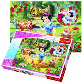 Princess - Hercegnők puzzle 200 db