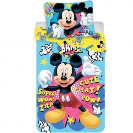 Mickey egér - Mickey Mouse ágyneműhuzat 140*200 és 70*90 cm