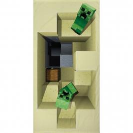 Minecraft strand törölköző 70*140 cm