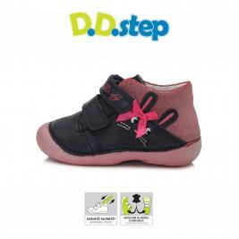 D.D.Step zárt átmeneti lány cipő nyuszis mintával