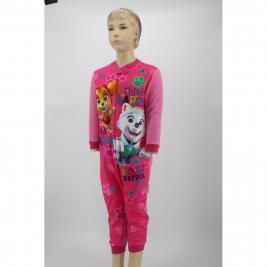 Mancs Őrjárat egyrészes polár pizsama lányoknak