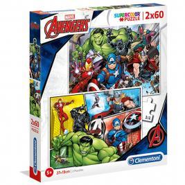 Avengers - Bosszúállók 2*60 db puzzle